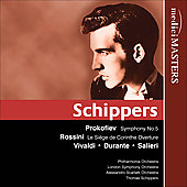 Prokofiev: Symphony no 5;  et al / Thomas Schippers