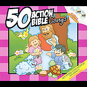 Twin Sisters: 50 Action Bible Songs [Digipak]