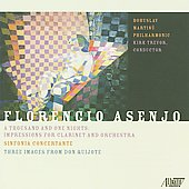 Asenjo: Resonances, The Odyssey, etc / Kirk Trevor, Capella Istropolitana