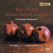 A European Encounter - B&eacute;la Bart&oacute;k, Ahmed Adnan Saygun / Vogler, Nemtsov