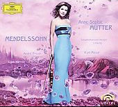 Mendelssohn: Violin Concerto, Violin Sonata & Piano Trio / Anne-Sophie Mutter, Andr&eacute; Previn, Lynn Harrell, et al