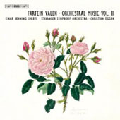 Valen: Orchestral Music Vol 3 / Christian Eggen, Stavanger Symphony Orchestra, et al