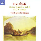 Dvorak: String Quartets Vol 8 / Vlach Quartet Prague