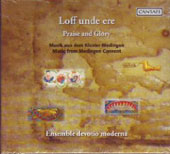 Praise and Glory - Music from Medingen Convent / Ulrike Volkhardt, Devotio moderna
