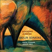Dohn&aacute;nyi, Jan&aacute;cek: Violin Sonatas