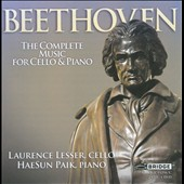 Beethoven: The Complete Music for Cello & Piano / Laurence Lesser