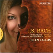 Bach: Six Cello Suites On Viola / Hellen Callus