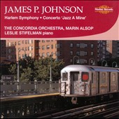 James P. Johnson: Harlem Symphony; Concerto 'Jazz A Mine' / Leslie Stifelman, piano