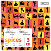 Spices: France, Italy, Spain - Your journey through classical music