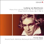 Beethoven: Piano Trios, Op. 1 & 97 / Trio Ex Aequo