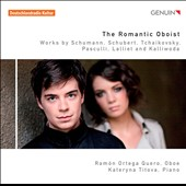 The Romantic Oboist - works by Schumann, Schubert, Tchaikovsky / Ramon Ortega Quero, oboe; Kateryna Tilova, piano