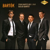 Bartok: String Quartets Nos. 1, 3 & 5 / Euclid Quartet