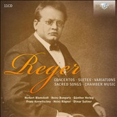 Reger: Concertos; Suites; Variations; Sacred Songs; Chamber Music / Blomstedt, Bongartz, Herbig, Konwitschny, Rogner, Suitner, Suske