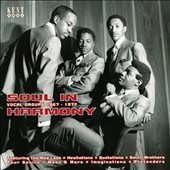 Various Artists: Soul in Harmony: Vocal Groups 1967-1977