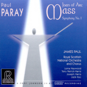 Paray: Joan of Arc Mass, Symphony no 1 / James Paul, et al