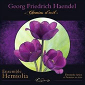 'Paths of Exile' Handel: 9 German arias & trio sonatas / Ensemble Hemiolia
