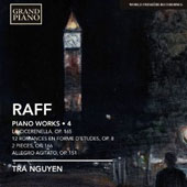 Joachim Raff: Piano Works, Vol. 4 - La Cicerenella, Op. 165; Romances (12), Op. 8; Pieces (2), Op. 166; Allegro Agitato, Op. 151 / Tra Nguyen, piano