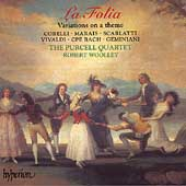La Folia - Variations on a Theme / Woolley, Purcell Quartet