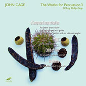 John Cage: The Works for Percussion 3 - Constructions 1-3; Trio; Quartet; Living Room Music / Third Coast Percussion Ens.