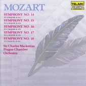 Classics - Mozart: Symphonies 14, 15, 16, 17, 18 / Mackerras