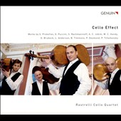 Cello Effect - transcriptions for 4 cellos of works by Prokofiev, Puccini, Rachmaninov, Brubeck, Tchaikovsky, Leroy Anderson et al. / Rastrelli Cello Quartet