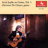 Scott Joplin on Guitar Vol 3 / Giovanni De Chiaro