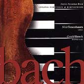 Bach: Sonatas for Violin and Harpsichord / Tenenbaum, Ranck
