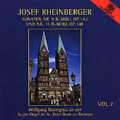 Josef Rheinberger Vol 7 - Sonaten no 9, 11, etc / Baumgratz