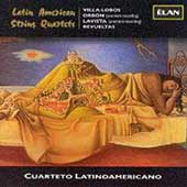 Latin American String Quartets / Cuarteto Latinoamericano