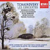 Tchaikovsky: Les Concertos / Cziffra, Kogan, Fournier, et al