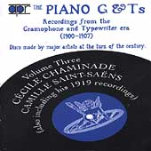The Piano G & Ts Vol 3 / Chaminade, Saint-Sa&euml;ns