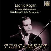 Brahms, Mendelssohn: Violin Concertos / Leonid Kogan, et al