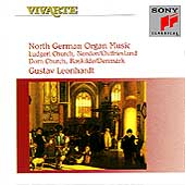 North German Organ Music / Gustav Leonhardt