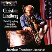 American Trombone Concertos / Christian Lindberg, DePreist