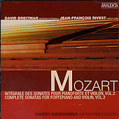 Mozart: Complete Sonatas for Fortepiano and Violin Vol 2