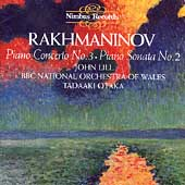 Rakhmaninov: Piano Concerto No 3, etc / Lill, Otaka