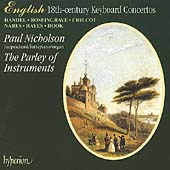 18th Century Keyboard Concertos / Paul Nicholson