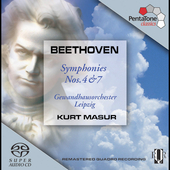 Beethoven: Symphonies no 4 & 7 / Masur, et al