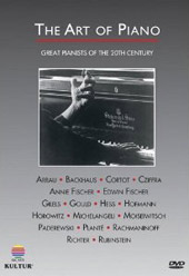 The Art of Piano / Great Pianists of the 20th Century [DVD]