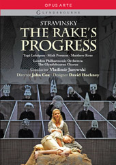 Stravinsky: The Rake's Progress / Jurowski, Lehtipuu, Persson, Rose [DVD]
