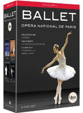 Ballet: Opera National de Paris / Balanchine, Neumeier & Nureyev [6 DVD]
