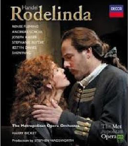 Handel: Rodelinda / Renée Fleming, Andreas Scholl, Joseph Kaiser, Stephanie Blythe / Matthew Diamond, Harry Bicket, MET [Blu-Ray]