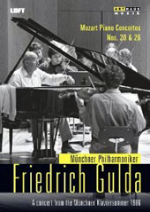 Mozart: Piano Concertos nos 20 & 26 - Live from the 1986 Munchner Klaviersommer / Friedrich Gulda, piano [DVD]