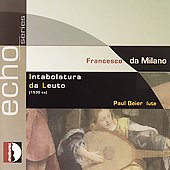 Echo - Francesco da Milano: Intabolatura da leuto / Beier