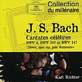 Bach J.s: Cantatas Bwv 4, 202 & 147