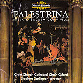 Palestrina: Missa O Sacrum Convivium / Christ Church Cathedral Choir, Oxford, Darlington