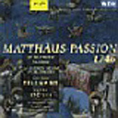 Telemann: Matth&auml;us-Passion / St&ouml;tzel, Schlick, et al