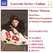 Laureate Series, Guitar  -Thomas Viloteau