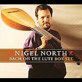 Bach on the Lute / Nigel North, lute [4 CDs]
