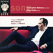 Schubert, Wolf, Debussy, etc: Songs / Maltman, Drake